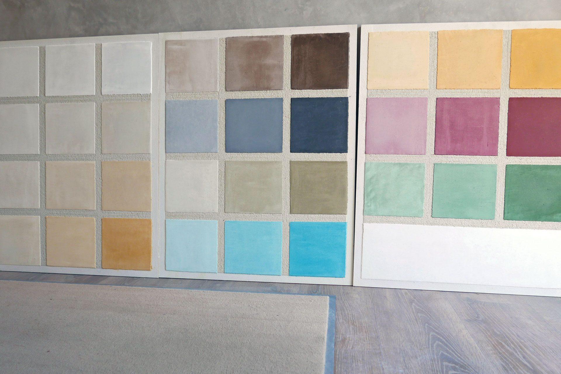 KalkManufaktur Mannheim Farbtafeln