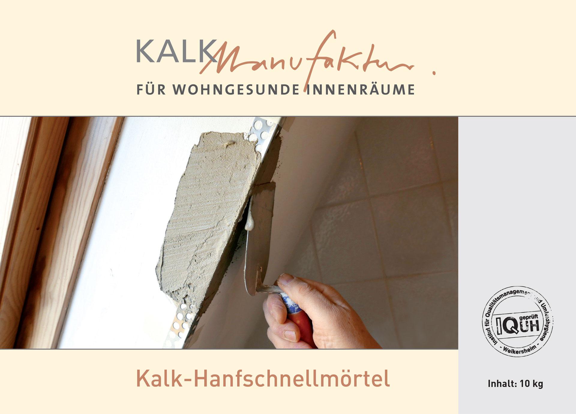Kalkmanufaktur Kalk-Hanfschnellmörtel