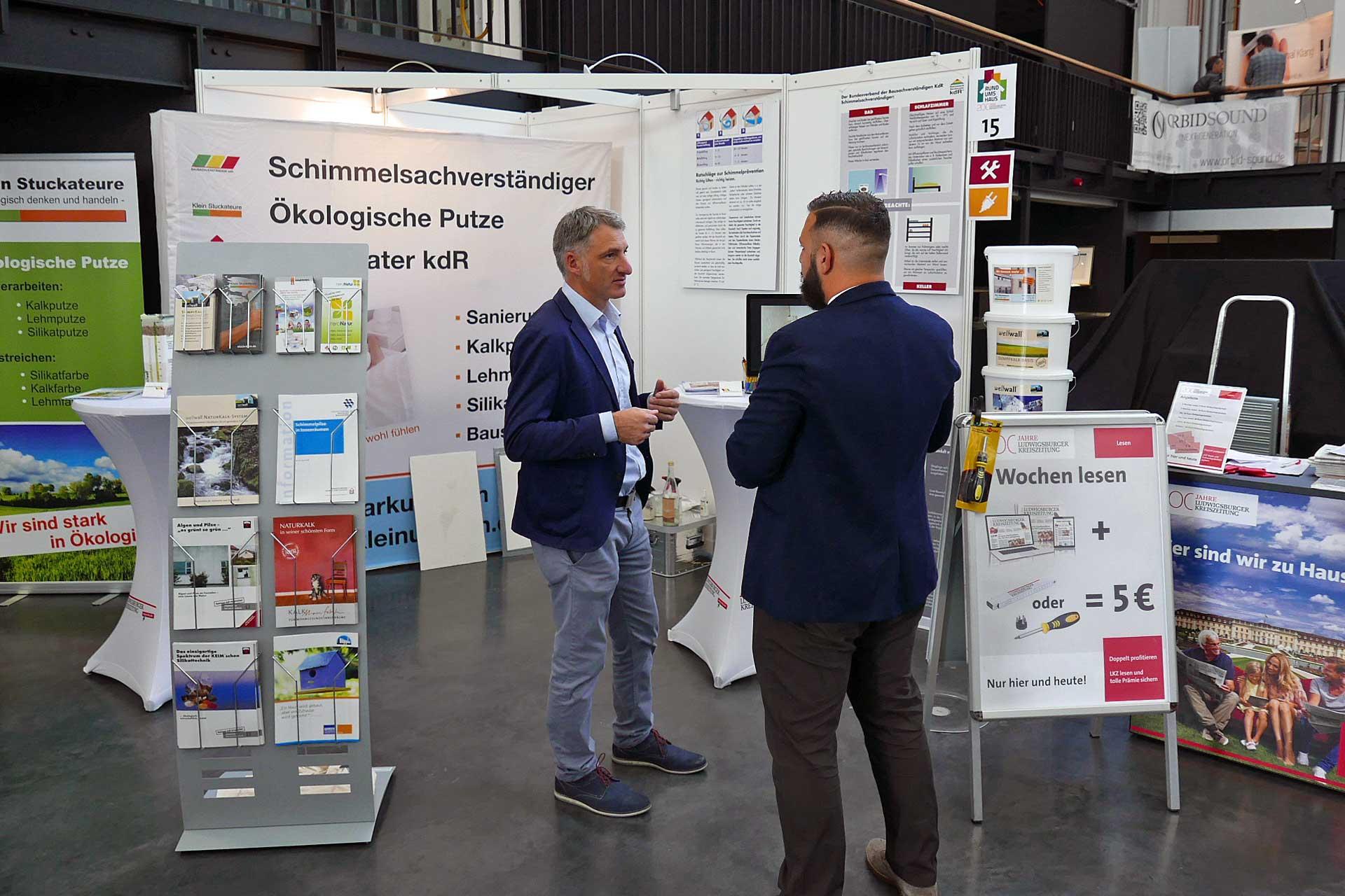 "Kalkmanufaktur Messe ""Rund ums Haus"" in Ludwigsburg"