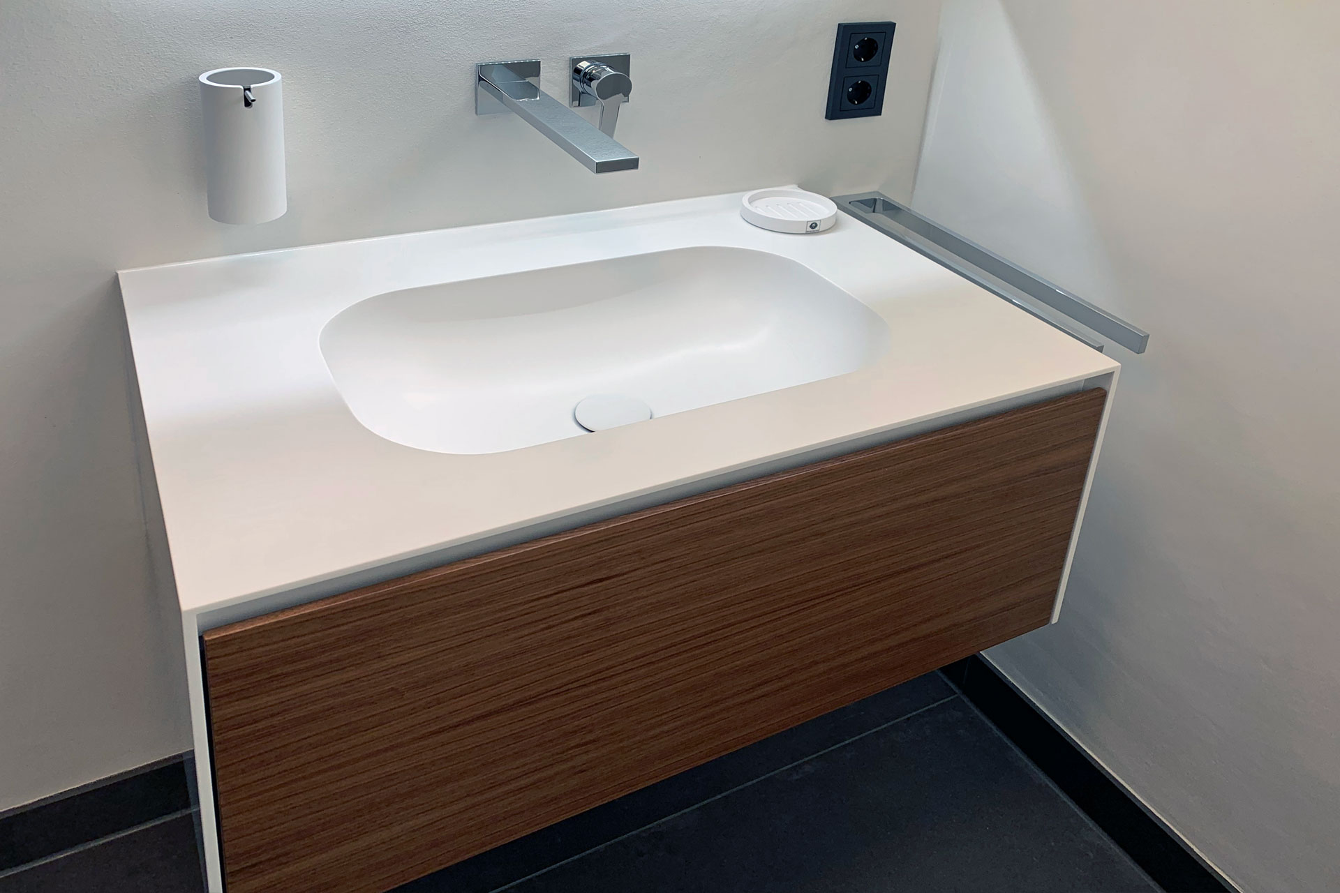 KalkManufaktur Mannheim Badezimmer mit Sumpfkalkputz